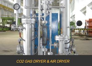 CO2 GAS DRYER & AIR DRYER