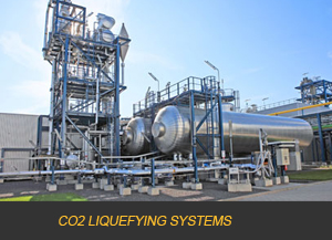 CO2 LIQUEFYING SYSTEMS