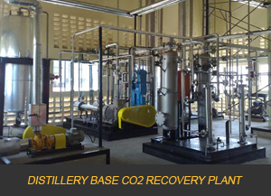 DISTILLERY BASE CO2 RECOVERY PLANT